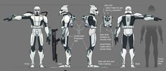 Water War Concept Art Gallery | Clone SCUBA trooper