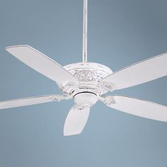 "54"" Minka Aire Classica Provencal Blanc Ceiling Fan - #R1963   LampsPlus.com"