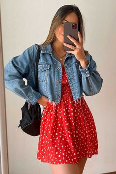 Cute Casual Outfits, Simple Outfits, Pretty Outfits, Stylish Outfits, Casual Dresses, Teen Fashion Outfits, Mode Outfits, Look Fashion, 2000s Fashion