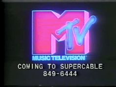 When Mtv was actually music television