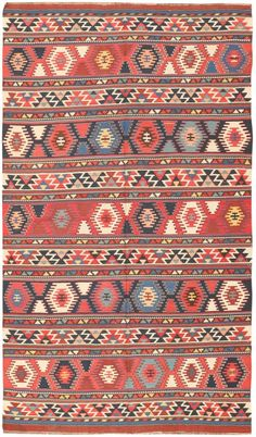 Antique Caucasian Kilim 47220 Main Image - By Nazmiyal