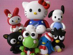 Kit completo Hello Kitty - Sanrio | Andreia  Akita | 17D485 - Elo7