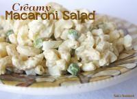 CALEB: Hawaiian 'Mac Salad'  Creamy Macaroni Salad