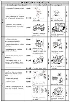 Dossier d'évaluation - suivi des progrès des élèves à la maternelle - maternelle, évaluation, suivi, compétence, livret