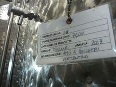 La fermentazione del Vermentino. 16.10.2013 Grape fermentation to create the ultimate Vermentino, SoloSole