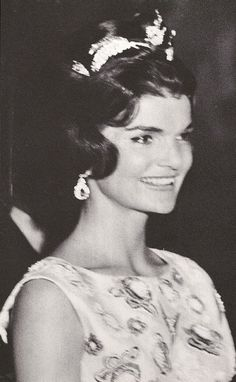Jacqueline Kennedy at the Palace of Versailles.