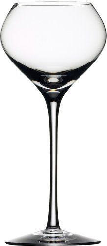 Orrefors Difference Sweet Wine Glass by Orrefors. $50.00. Made from lead-free material. Also sold as a single glass. Designed by Swedish artist Erika Lagerbielke. Handwashing preferred. It takes seven craftsmen to make one individual glass!. A unique suite of wine glasses explicitly designed to enhance flavor and bouquet, brings a new dimension to the enjoyment of fine wine.  Form and function have been carefully tested.  Difference is the creation of Erika Lagerbi...
