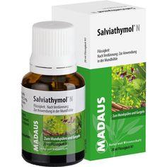 SALVIATHYMOL N Tropfen:   Packungsinhalt: 20 ml Tropfen PZN: 06181793 Hersteller: MEDA Pharma GmbH & Co.KG Preis: 3,30 EUR inkl. 19 %…