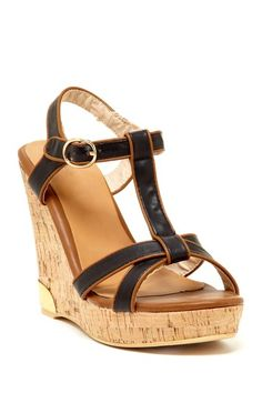 Bucco Septima Wedge Sandal on HauteLook... I would wear these with everything!