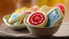 Classic Sugar Cookies ● Some things just don't change. Delicate sugar cookies have been favorites for generations. Whether sprinkled with colored sugar, frosted or elaborately decorated, they're as popular now as in years past.