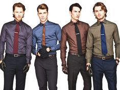 Nice color combinations for the Fall/Winter seasons!