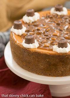 Caramel Cheesecake #GalentinesDayParty