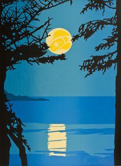 Humpback Moon ~ Roy Henry Vickers