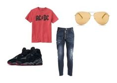 """""""Men's Outfits"""" by lexidonovan on Polyvore featuring Gap, Dsquared2, NIKE, Joe's Jeans, men's fashion and menswear"""