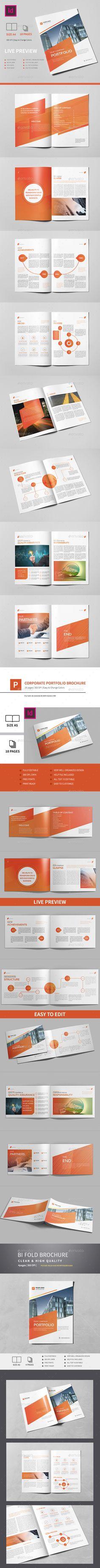 Brochure Bundle 3x1 / Templates InDesign INDD. Download here…