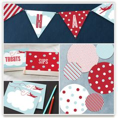 'The Birthday Plane Perfect Party', on Minted.com