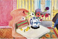 matisse... saw this piece in person yesterday! the colors are so gorgeous