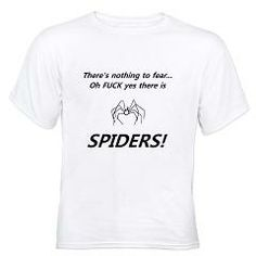 SPIDERS White T-Shirt > SPIDERS! > Just Another Shop of Stuff