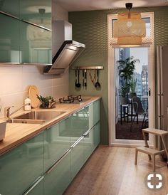 Cuisine fermée : nos arguments pour la préférer Kitchen Room Design, Kitchen Cabinet Design, Modern Kitchen Design, Home Decor Kitchen, Interior Design Kitchen, Kitchen Furniture, Home Kitchens, Kitchen Ideas, Kitchen Paint