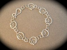 Circle of Life Spirals Bracelet by LauraGuptillJewelry on Etsy, $125.00