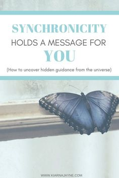 Synchronicity Holds A Message For You #synchronicity #theuniverse #signs #guidance #loa #lawofattraction