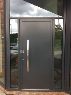 Hormann TopPrestige Plus Style 693 in RAL 7016 Anthracite Grey