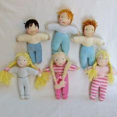more small waldorf dolls