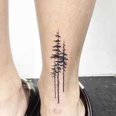 Image result for ANCHOR PINE TREE TATTOO