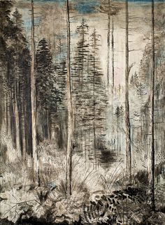 Alfred Partikel (German, 1888-1945)  Inside the Forest (Waldinneres), 1936  Oil on canvas