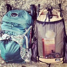 Duelling backpacks