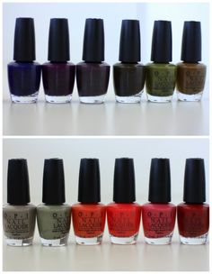 starting to paint my nails again in fall 2011 colors