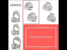 You imagine. We design. Check out Linara's Engagement Ring Collection.