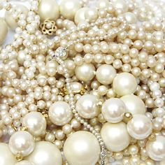pearls upon pearls.