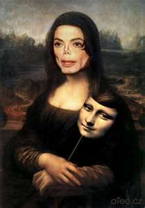 Mona Jackson/with michael jackson's face