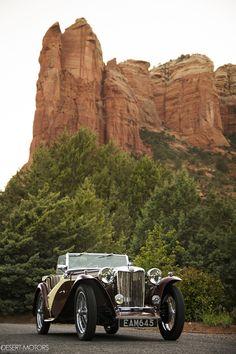 """1948 MG TC Roadster ~ Miks' Pics """"Era Automobiles l"""" board @ http://www.pinterest.com/msmgish/era-automobiles-l/"""