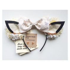 Minnie Ears Bambi MINNIE EARS ONLY by ComicGeekOut on Etsy