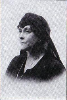 Olga Paley in mourning for Grand Duke Paul and her son, Vladimir. Both killed by the  Bolsheviks