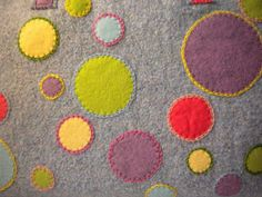 Applique felt - could be machined too