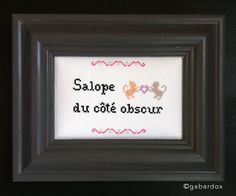 ©gabardox  point de croix, embroidery, broderie, cross stitch, canevas, art, deco, design, decoration