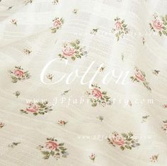 Rose Fabric Liberty of London Pure Cotton Baby Fabric by JPfabric