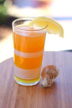 Ginger Lemon Kombucha The Anti-Inflammatory Drink  ~CulturedFoodLife