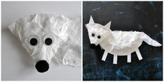 I HEART CRAFTY THINGS: Paper Plate Arctic Fox Craft for Kids