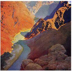Maxfield Parrish (American: 1870 – 1966) |