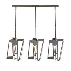 Buy the Hubbardton Forge Dark Smoke Direct. Shop for the Hubbardton Forge Dark Smoke Triptic 3 Light Wide Abstract Linear Pendant - Long Variant - High Wattage and save. Lantern Pendant, Pendant Lighting, Light Pendant, Dark Smoke, Bronze, Island Pendants, Modern Kitchen Design, Home Staging, Kitchen Lighting