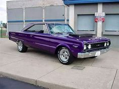 '67 Plymouth GTX - Holy WOW and purple to boot :)