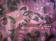 "Batik - detail from ""The Big Ugly"" - Kevin Houchin"