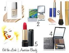 American Beauty | Marilyn Monroe: Get the look with all American-made makeup