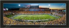 One small University of West Virginia stadium panoramic, framed to 27 x 9.5 inches. $69.99             @ ArtandMore.com