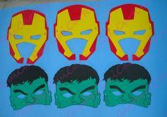 """Máscaras dos Vingadores, para deixar ainda mais divertida sua festa, produzida em EVA com muito cuidado, carinho e dedicação. Acompanha elástico.    O preço de 3,00 R$ é unitário.    Para saber mais a respeito de descontos, prazo e etc, leia a """"Política da Nossa Loja"""" R$ 3,00"""