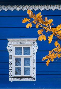 Russian window art.